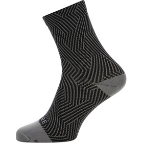GORE WEAR C3 Optiline Chaussettes mi-hautes, graphite grey/black